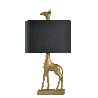 Giraffe Table Lamp Gold - StyleCraft