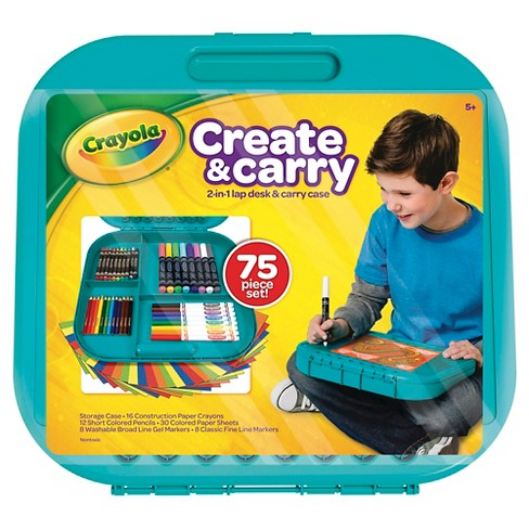 Crayola Create & Carry Case Coloring Kit - image 1 of 4