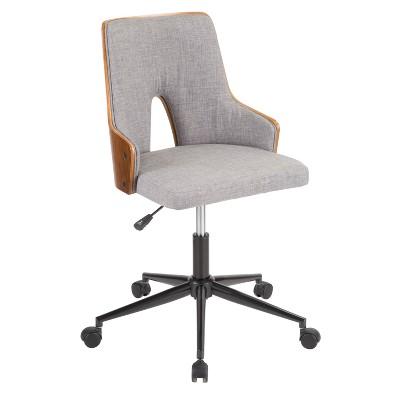 Stella Mid Century Modern Office Chair - Lumisource