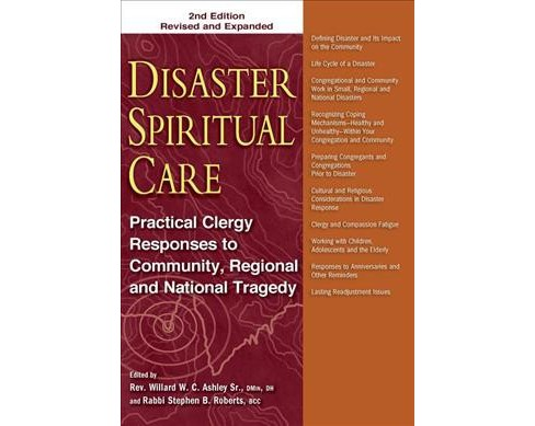 Disaster Spiritual Care : Practical Clergy Responses to Community, Regional and National Tragedy - image 1 of 1