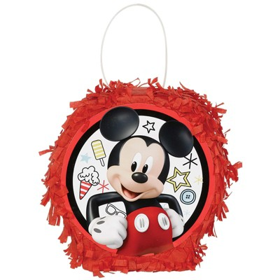 Birthday Express Mickey Mouse On The Go Favor Container Mini Pinata