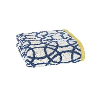 Lace Hand Towel Indigo - Scion