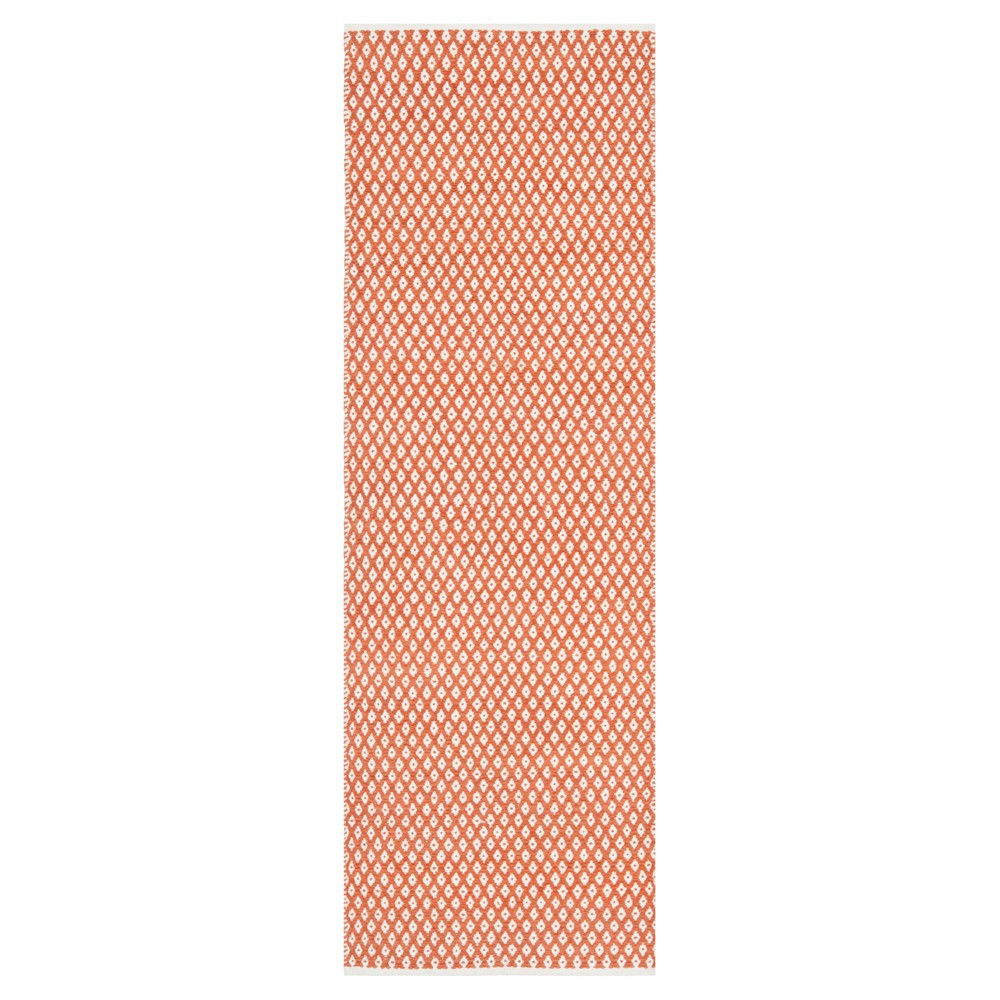 Ramona Runner - Orange (2'3x11' - Safavieh