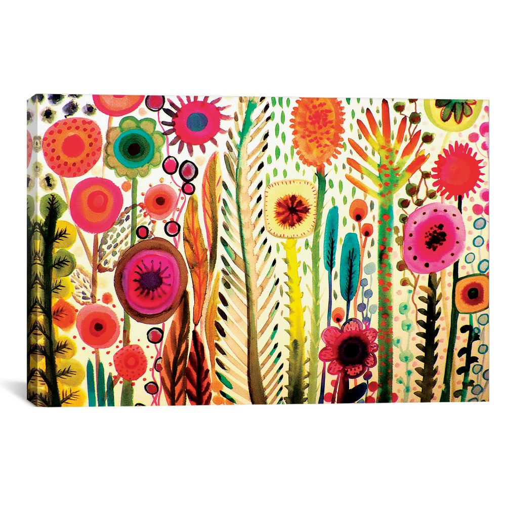 "Image of ""12""""x18"""" Printemps by Sylvie Demers Unframed Wall Canvas Print - iCanvas, Multi-Colored"""