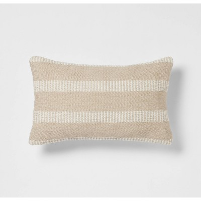 Woven Linework Lumbar Throw Pillow - Threshold™️