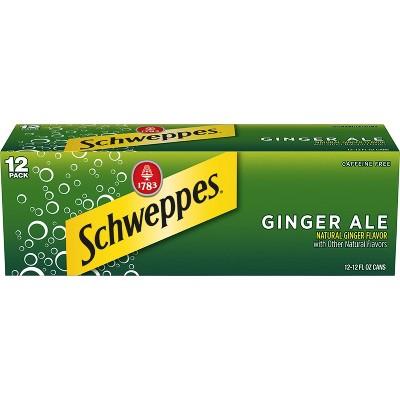 Schweppes Ginger Ale - 12pk/12 fl oz Cans