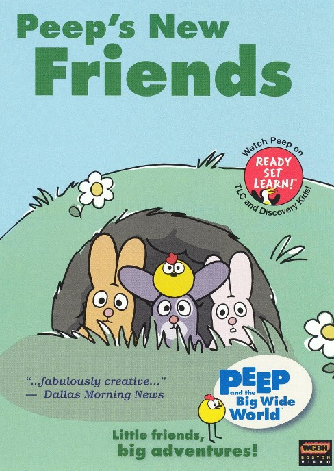 Peep's new friends (DVD) - image 1 of 1