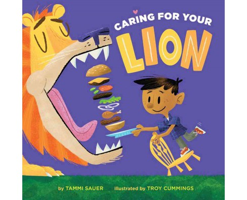 Caring for Your Lion -  by Tammi Sauer (School And Library) - image 1 of 1