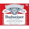 Budweiser Lager Beer - 30pk/12 fl oz Cans - image 4 of 4