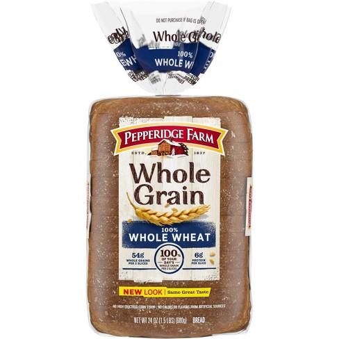 Pepperidge Farm 100% Whole Grain Whole Wheat Bread - 24oz - image 1 of 4