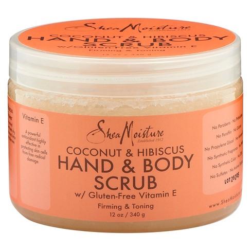 SheaMoisture Coconut & Hibiscus Hand and Body Scrub 12 oz - image 1 of 2