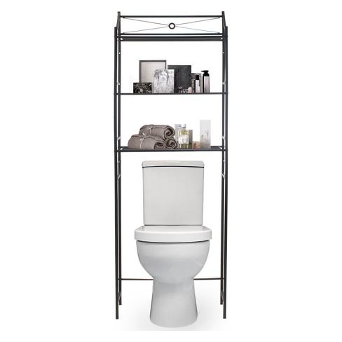 Bathroom Toilet Shelf | Sorbus Bathroom Storage Over The Toilet Organizer Target