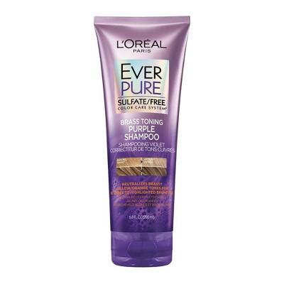 Shampoo & Conditioner: L'Oreal Paris EverPure Brass Toning Purple