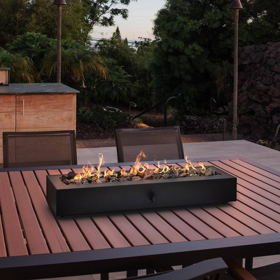 "28"" Outdoor Tabletop Fireplace - Black - Project 62™"