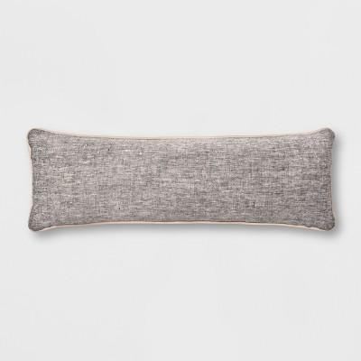 28  x 10  Lumbar Throw Pillow Gray - Smith & Hawken™