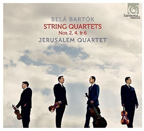 Jerusalem Quartet - Bartok:String Quartets Nos 2 4 & 6 (CD) - image 1 of 1