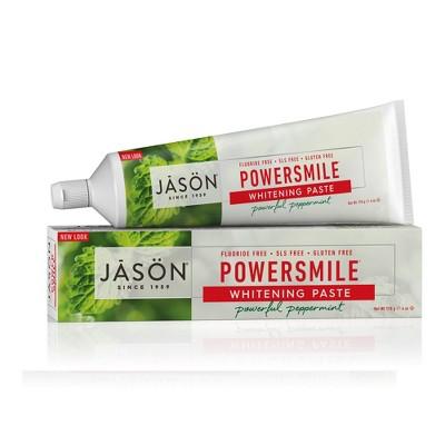 Toothpaste: JASÖN Powersmile
