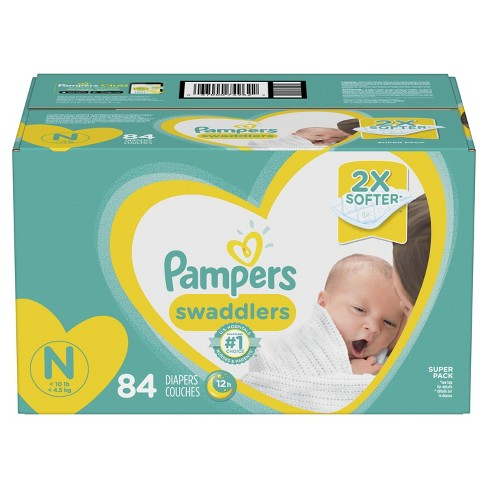 Pampers Swaddlers Diapers Super Pack (Select Size) - image 1 of 9