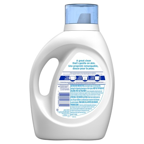 Tide Free and Gentle High Efficiency Liquid Laundry Detergent - 100 fl oz