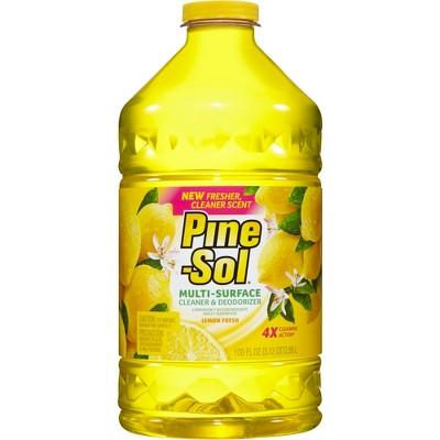 Pine-Sol Multi-Surface Cleaner Lemon Fresh 100 oz