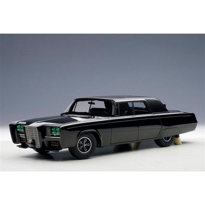 "Black Beauty ""The Green Hornet"" (1966-1967) TV Series 1/18 Diecast Model Car by Autoart"