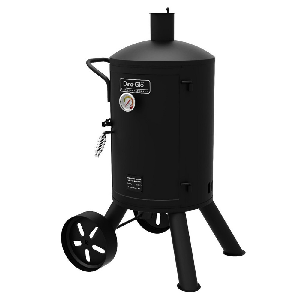 Dyna Glo 44 Vertical Charcoal Smoker - DGSS681VCS - Black