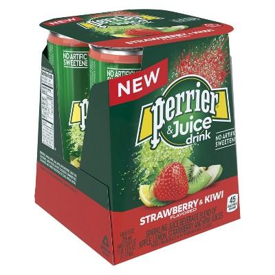 Sparkling Water: Perrier & Juice