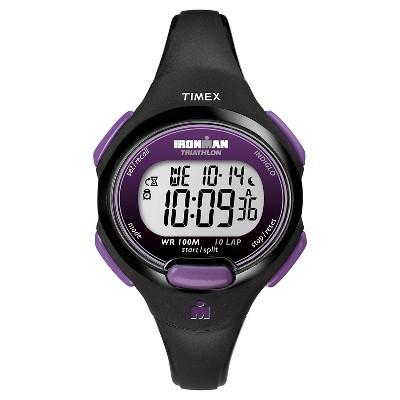 Women's Timex Ironman Essential 10 Lap Digital Watch - Black T5K523JT