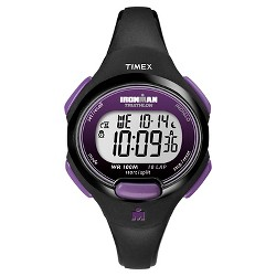 Women's Timex Ironman Essential 10 Lap Digital Watch - Black T5K523JT