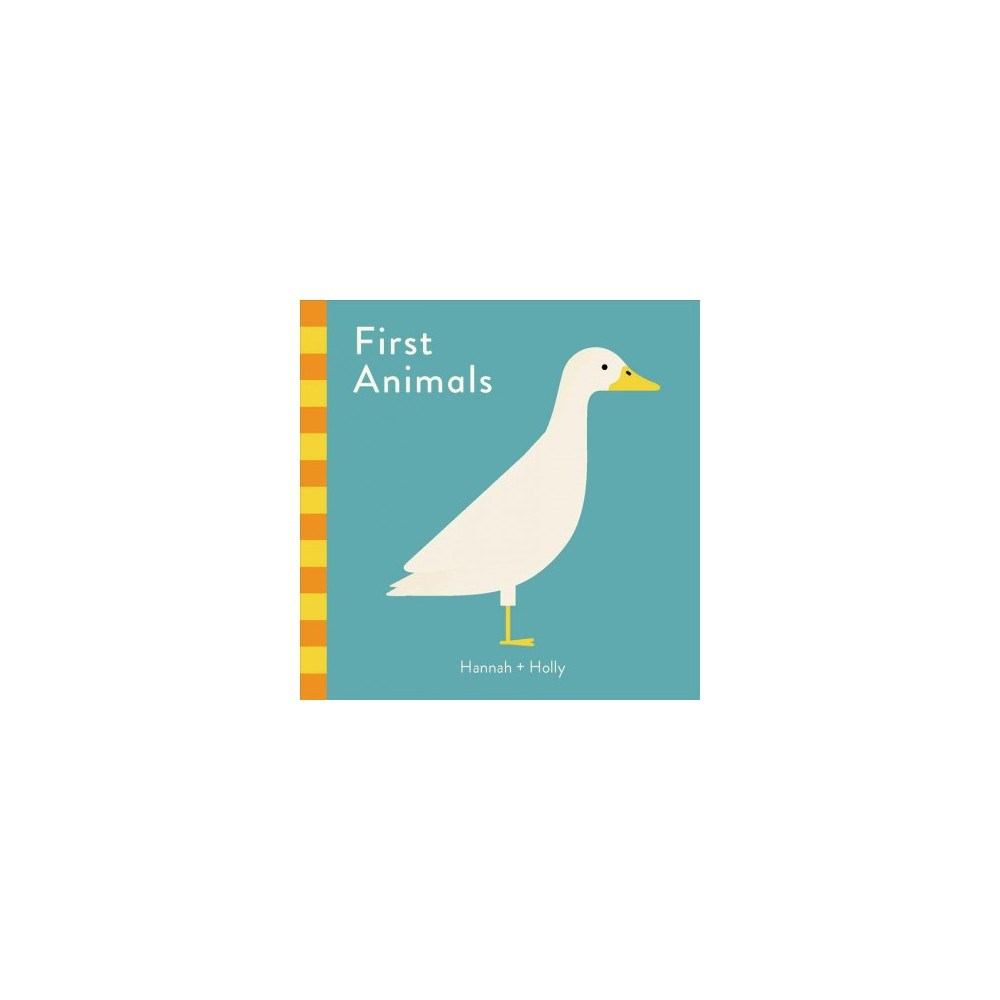 First Animals - (Touch and Learn) by Holly (Board Book) Buy