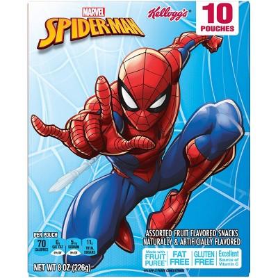 Kellogg's Spider-Man Fruit Snacks - 10ct
