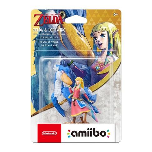The Legend of Zelda: Skyward Sword HD amiibo Figure - Zelda & Loftwing - image 1 of 2