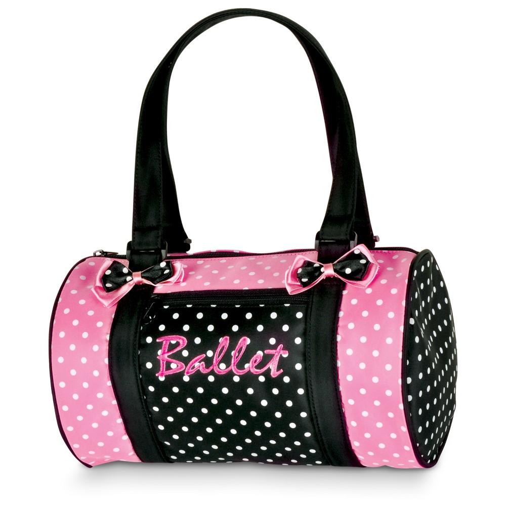 Danshuz Girls' Polka Dots Strap Handbag - Black