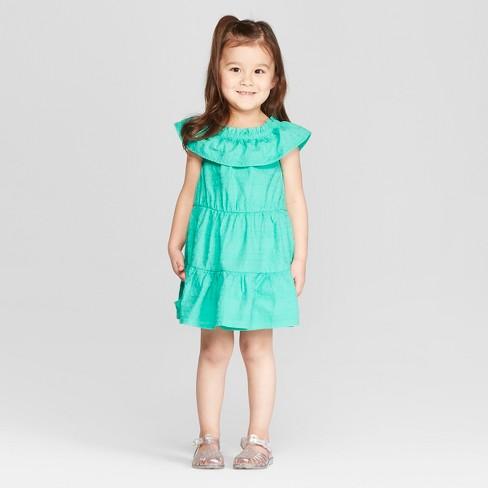 749d003de ... Toddler Girls' Embroidered A Line Dress - Aqua. Shop all Genuine Kids  from OshKosh. _mackroberts_