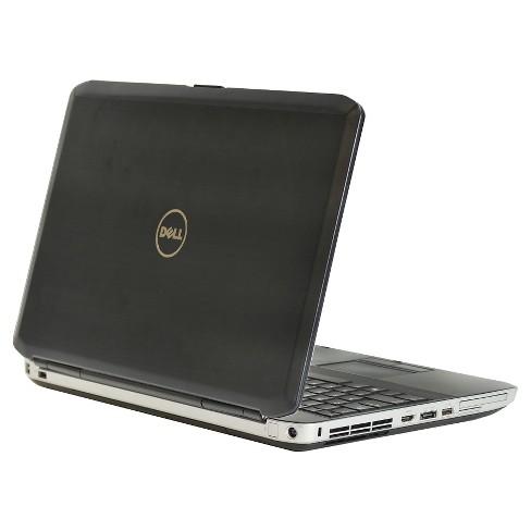 Dell E5430 Pre-Owned/Certified Laptop Core i5-3210M 2 5GHz/8GB Ram/320GB  HDD/DVD/14/Windows 10 Pro (64Bit) - Gunmetal (TT1-0004)