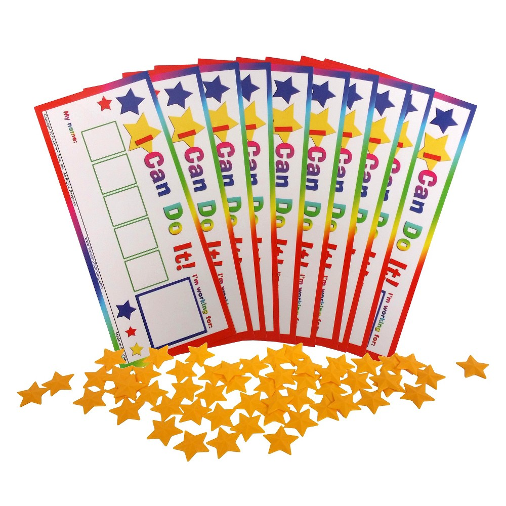 Image of Kenson Kids Token Board Star, Classroom Pack