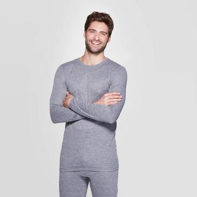 Men's Long Sleeve Premium Thermal T-Shirt - Goodfellow & Co™ Heather M