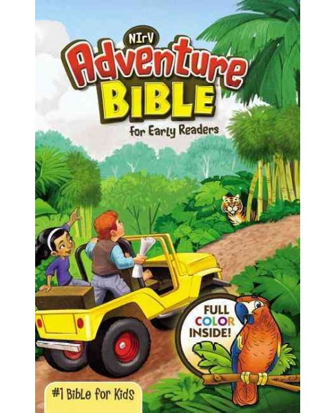 NIrV Adventure Bible for Young Readers : New International Reader's Version (Hardcover) - image 1 of 1