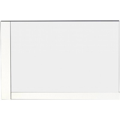 "35.5"" D3 Modern Plywood Veneer Mirror White - American Imaginations"