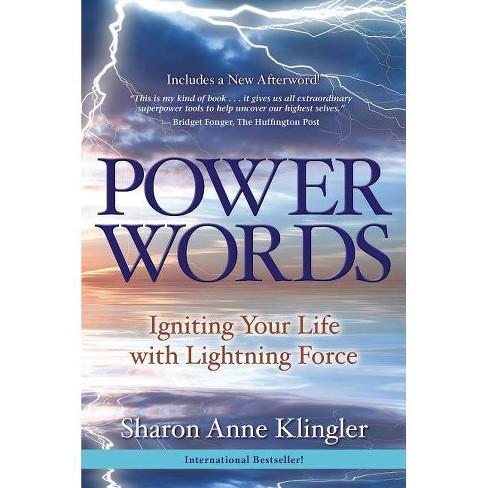 Power Words - by  Sharon Anne Klingler (Paperback) - image 1 of 1