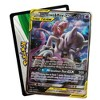2019 Pokemon Trading Card Game Tag Team Fall Tin featuring Mewtwo & Mew - image 3 of 5