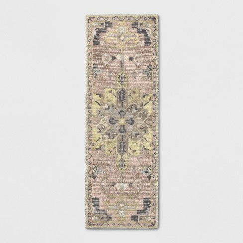 "2'3""x7' Paisley Tufted Area Rug - Threshold™ - image 1 of 3"