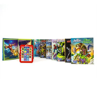 Pi Kids Marvel Electronic Me Reader and 8-Book Library Boxed Set