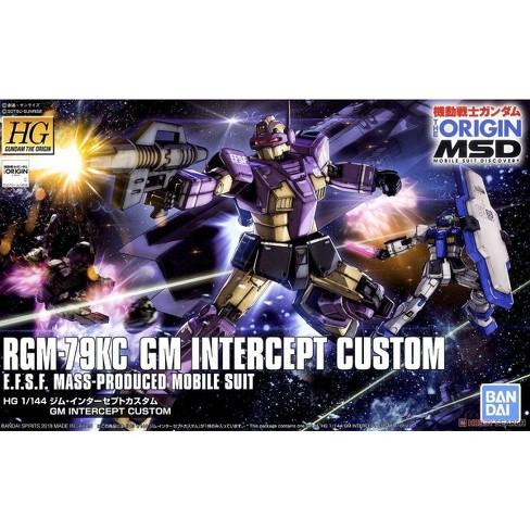 Bandai Hobby Gundam The Origin GM Intercept Custom HG 1/144 Model Kit - image 1 of 3