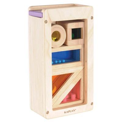 Guidecraft Rainbow Sound Blocks - 5 Pcs