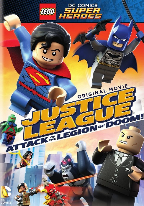 LEGO DC Comics Super Heroes: Justice League - Attack of the Legion of Doom (dvd_video) - image 1 of 1