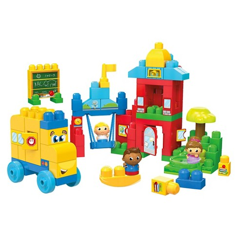 Mega Bloks First Builders Schoolhouse Friends Set - image 1 of 5