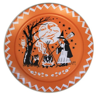 """Tabletop 18.0"""" 18-Inch Halloween Platter Decoration Plate Witch Serve One Hundred 80 Degree  -  Decorative Trays And Platters"""