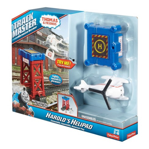 Thomas /& Friends Track master Motorized Railway Harold/'s Helipad Lights /& Sounds