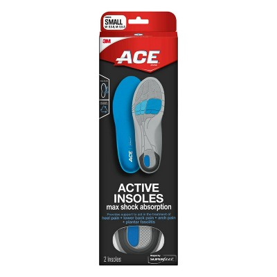 Ace Active Insoles Shaped by Superfeet